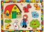 Farm fa puzzle gyerekeknek
